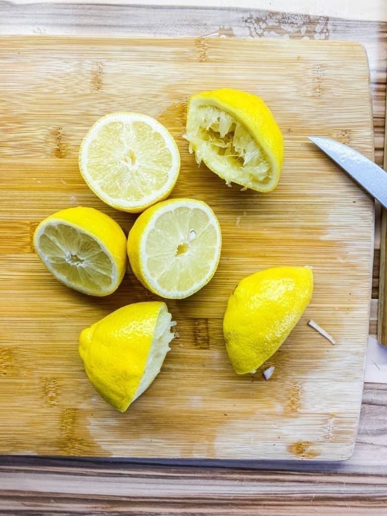 Greek Lemon Potatoes with Fresh herbs