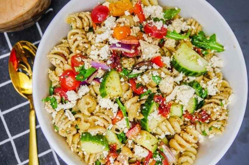 Pasta Salad for Greek Gods